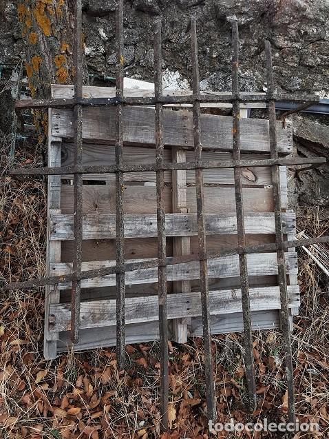 GRAN REJA ESPAÑOLA EN FORJA DEL S. XVII. (Antigüedades - Técnicas - Cerrajería y Forja - Forjas Antiguas)