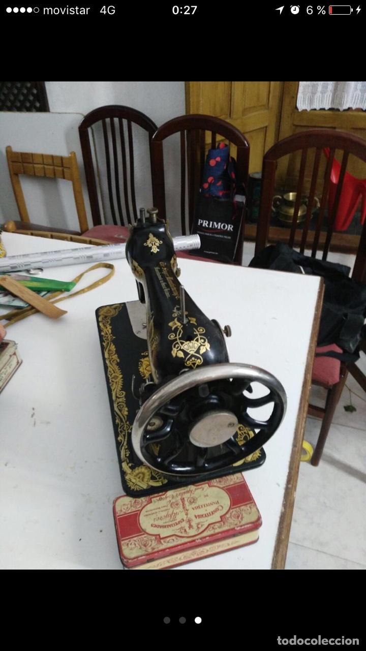 Antigüedades: Maquina coser Singer - Foto 3 - 103347230