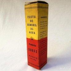 Antigüedades: PASTA DE ESMERIL AL AGUA. Lote 103466775
