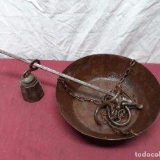 Antigüedades: ROMANA DE PLATO DE 30 KILOS... CO XX. Lote 107287451