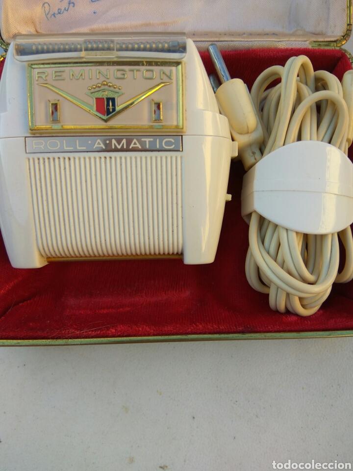 MAQUINA AFEITAR REMINGTON IMPECABLE FUNCIONA PERFECTAMENTE (Antigüedades - Técnicas - Barbería - Maquinillas Antiguas)