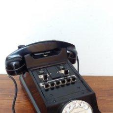 Teléfonos: TELEFONO BAQUELITA- ERICSSON MODELO COCODRILO PTT 1950 -CENTRALITA. Lote 103816599