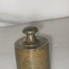 Antigüedades: PESA DE 500 GRAMOS EN BRONCE SELLADA VALENCIA. Lote 103820635