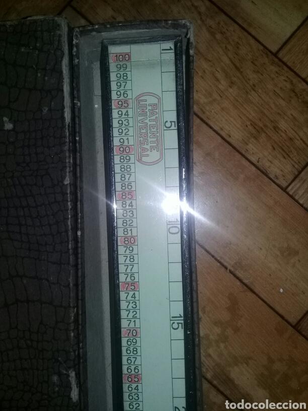 Antigüedades: Metro Automático Registrador Patente Universal A. PALACIOS JGT FNMT Barcelona - Foto 8 - 103848528