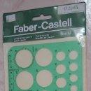 Antigüedades: FABER CASTELL. PLANTILLA DE CIRCULOS PEN 0,5, REFERENCIA 906 AF, DIBUJO TÉCNICO AÑOS 80 A ESTRENAR. Lote 103913003