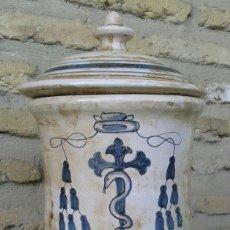 Antigüedades: ALBARELO DE FARMACIA ESTILO ANTIGUO. Lote 103928247