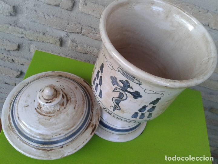 Antigüedades: albarelo de farmacia estilo antiguo - Foto 3 - 103928247