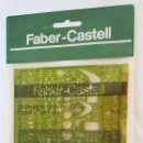 Antigüedades: FABER CASTELL PLANTILLA ELECTRÓNICA REF 172500. 80 AÑOS 80. DIBUJO TÉCNICO. Lote 103929211