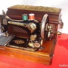 Antigüedades: PRECIOSA Y ANTIGUA MAQUINA DE COSER, SINGER, MODELO 28K, AÑO 1898 FUNCIONA Y COSE. Lote 103935879