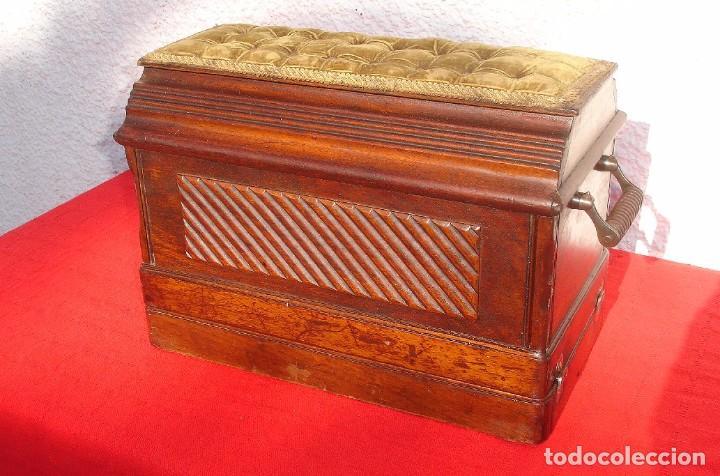 Antigüedades: PRECIOSA Y ANTIGUA MAQUINA DE COSER, SINGER, MODELO 28K, AÑO 1898 FUNCIONA Y COSE - Foto 8 - 103935879