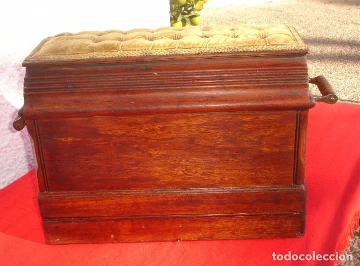 Antigüedades: PRECIOSA Y ANTIGUA MAQUINA DE COSER, SINGER, MODELO 28K, AÑO 1898 FUNCIONA Y COSE - Foto 10 - 103935879