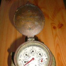 Antigüedades: CONTADOR DE AGUA MARCA TAVIRA. Lote 147109689