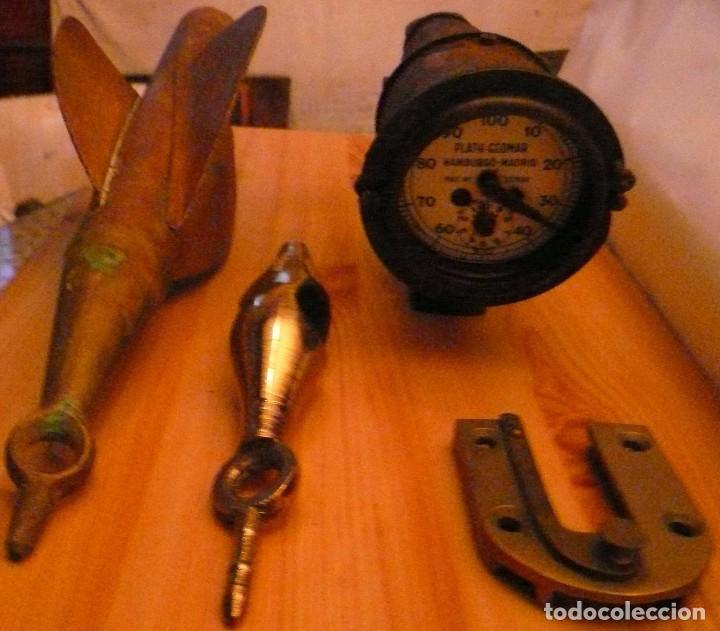 CORREDERA MECANICA PLATH-GEOMAR HAMBURGO-MADRID PATENTE Nº 237640 (Antigüedades - Antigüedades Técnicas - Marinas y Navales)