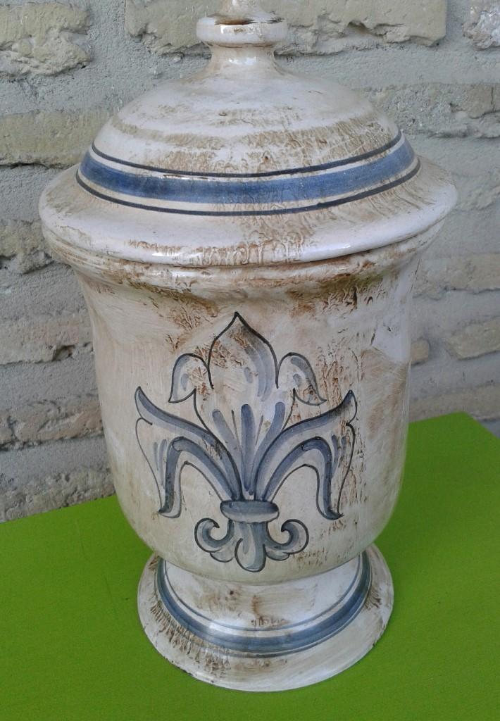 Antigüedades: albarelo de farmacia estilo antiguo - Foto 5 - 103928247