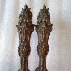 Antigüedades: TIRADORES BRONCE. Lote 103988007