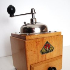Antigüedades: MOLINILLO DE CAFÉ MARCA DIENES. MODELO 1610-SOLIDA. ALEMANIA. CA. 1950. Lote 103999351
