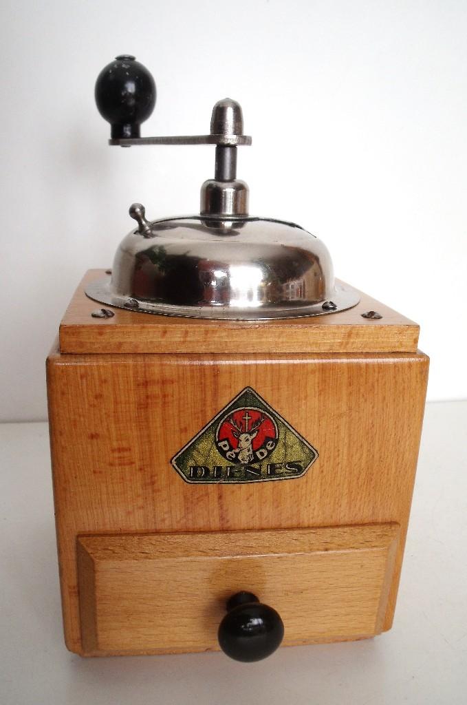 Antigüedades: MOLINILLO DE CAFÉ MARCA DIENES. MODELO 1610-SOLIDA. ALEMANIA. CA. 1950 - Foto 5 - 103999351