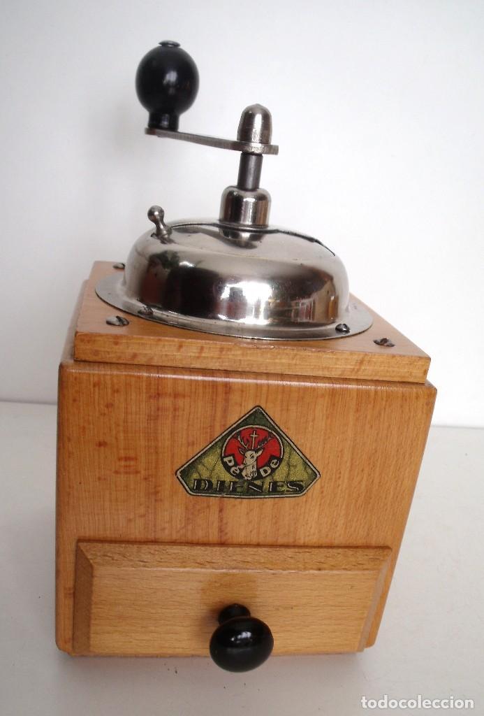 Antigüedades: MOLINILLO DE CAFÉ MARCA DIENES. MODELO 1610-SOLIDA. ALEMANIA. CA. 1950 - Foto 4 - 103999351
