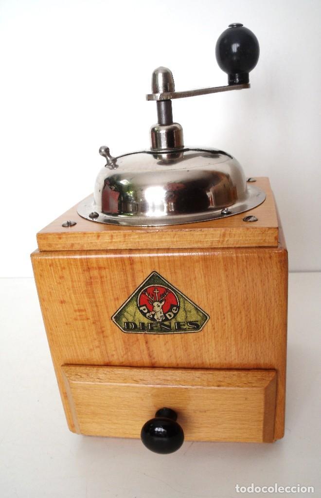 Antigüedades: MOLINILLO DE CAFÉ MARCA DIENES. MODELO 1610-SOLIDA. ALEMANIA. CA. 1950 - Foto 6 - 103999351