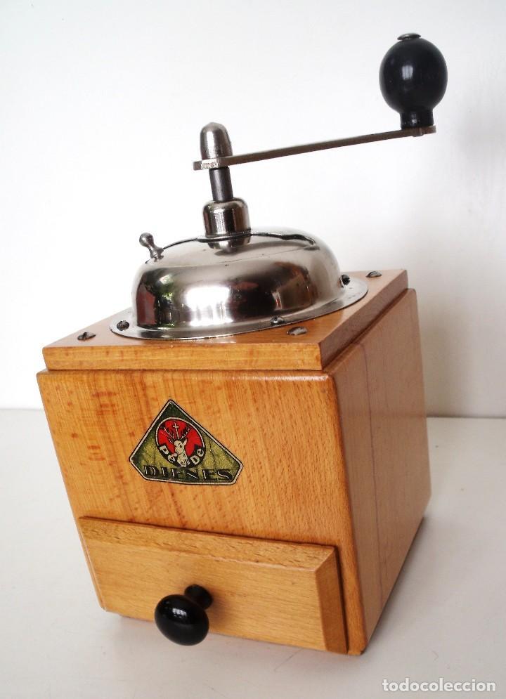 Antigüedades: MOLINILLO DE CAFÉ MARCA DIENES. MODELO 1610-SOLIDA. ALEMANIA. CA. 1950 - Foto 7 - 103999351