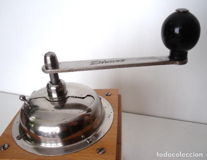 Antigüedades: MOLINILLO DE CAFÉ MARCA DIENES. MODELO 1610-SOLIDA. ALEMANIA. CA. 1950 - Foto 14 - 103999351