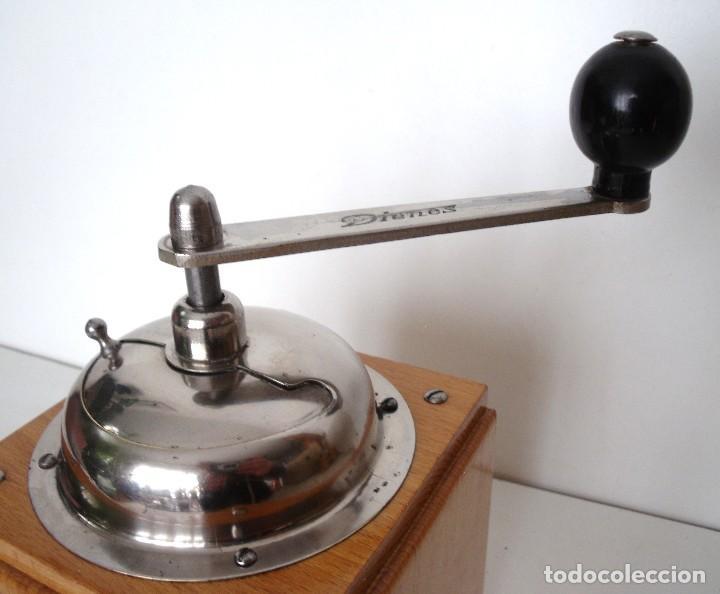 Antigüedades: MOLINILLO DE CAFÉ MARCA DIENES. MODELO 1610-SOLIDA. ALEMANIA. CA. 1950 - Foto 16 - 103999351