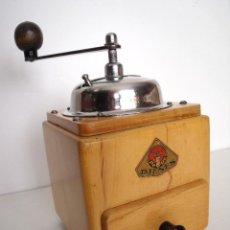 Antigüedades: MOLINILLO DE CAFÉ MARCA DIENES. MODELO 5226-L. ALEMANIA. CA. 1950. Lote 103999495