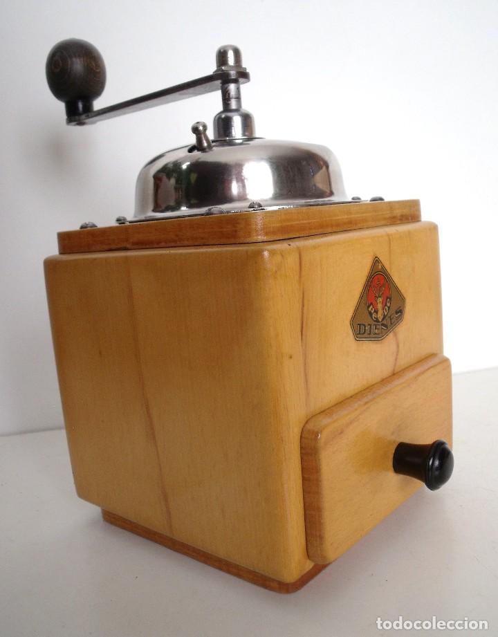 Antigüedades: MOLINILLO DE CAFÉ MARCA DIENES. MODELO 5226-L. ALEMANIA. CA. 1950 - Foto 2 - 103999495