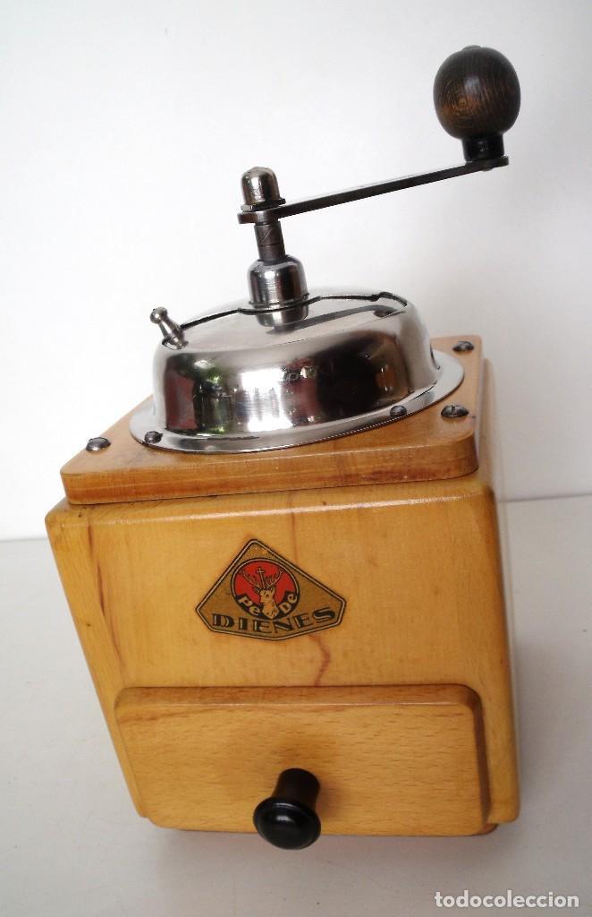 Antigüedades: MOLINILLO DE CAFÉ MARCA DIENES. MODELO 5226-L. ALEMANIA. CA. 1950 - Foto 5 - 103999495