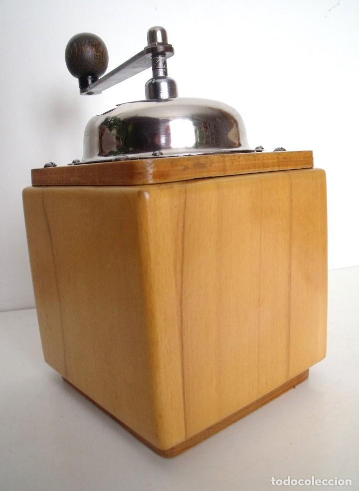 Antigüedades: MOLINILLO DE CAFÉ MARCA DIENES. MODELO 5226-L. ALEMANIA. CA. 1950 - Foto 6 - 103999495