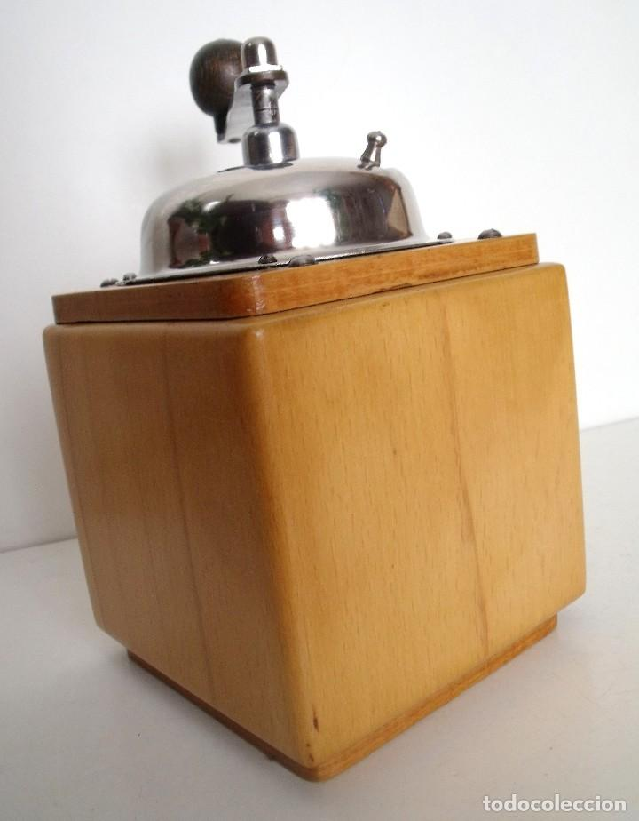 Antigüedades: MOLINILLO DE CAFÉ MARCA DIENES. MODELO 5226-L. ALEMANIA. CA. 1950 - Foto 7 - 103999495