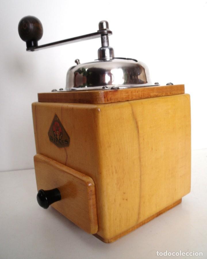 Antigüedades: MOLINILLO DE CAFÉ MARCA DIENES. MODELO 5226-L. ALEMANIA. CA. 1950 - Foto 8 - 103999495