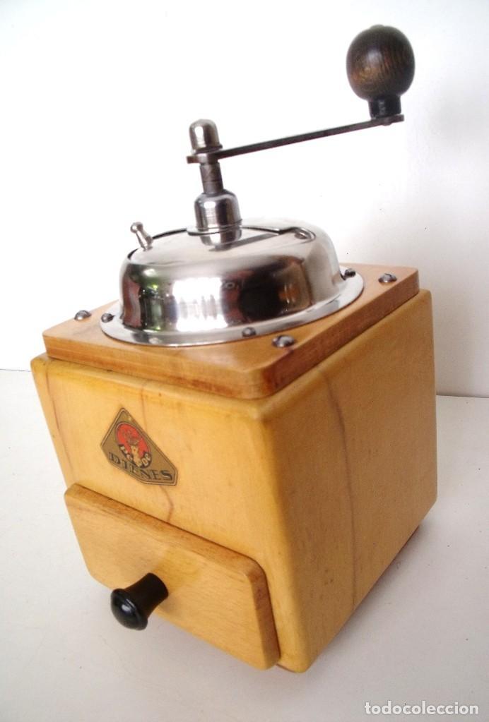 Antigüedades: MOLINILLO DE CAFÉ MARCA DIENES. MODELO 5226-L. ALEMANIA. CA. 1950 - Foto 9 - 103999495