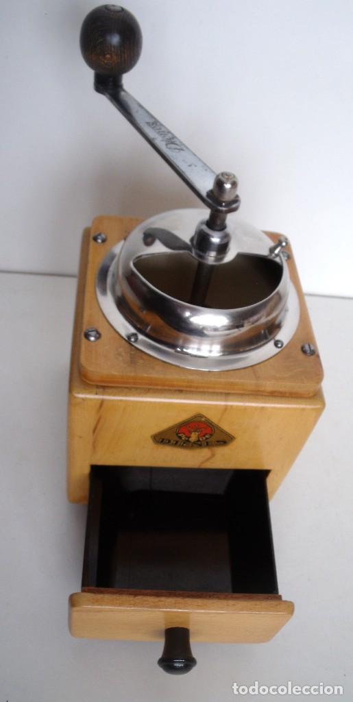 Antigüedades: MOLINILLO DE CAFÉ MARCA DIENES. MODELO 5226-L. ALEMANIA. CA. 1950 - Foto 10 - 103999495
