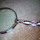 Antigüedades: GAN LUPA DE ESMALTE 10 CM DIAMETRO. Lote 104095651