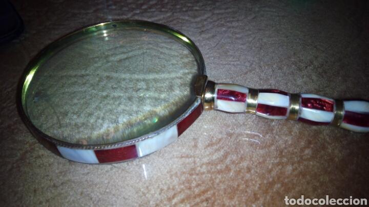 Antigüedades: Gan Lupa de Esmalte 10 cm diametro - Foto 2 - 104095651