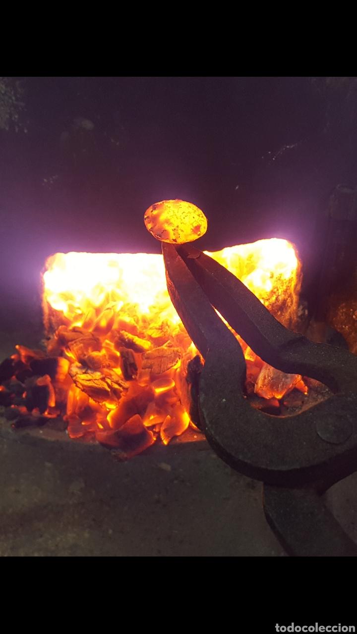 Antigüedades: Clavos de forja/clavos de herrero - Foto 3 - 104097980