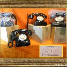 Teléfonos: TELÉFONO ESPAÑOL DE SOBREMESA AÑOS 50 STANDARD ELÉCTRICA, S.A. - MADRID FUNCIONANDO Y PASADO CONTROL. Lote 144656249