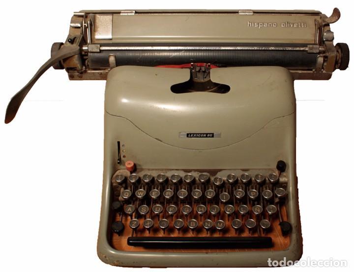 MÁQUINA DE ESCRIBIR HISPANO OLIVETTI, MODELO LEXICON 80 (Antigüedades - Técnicas - Máquinas de Escribir Antiguas - Olivetti)