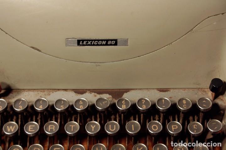 Antigüedades: Máquina de escribir Hispano Olivetti, modelo Lexicon 80 - Foto 5 - 104170379