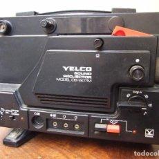 Antigüedades: PROYECTOR SUPER 8 YELCO DS-607M SONORO - FUNCIONA PERFECTAMENTE - GASTOS 10€. Lote 147324837
