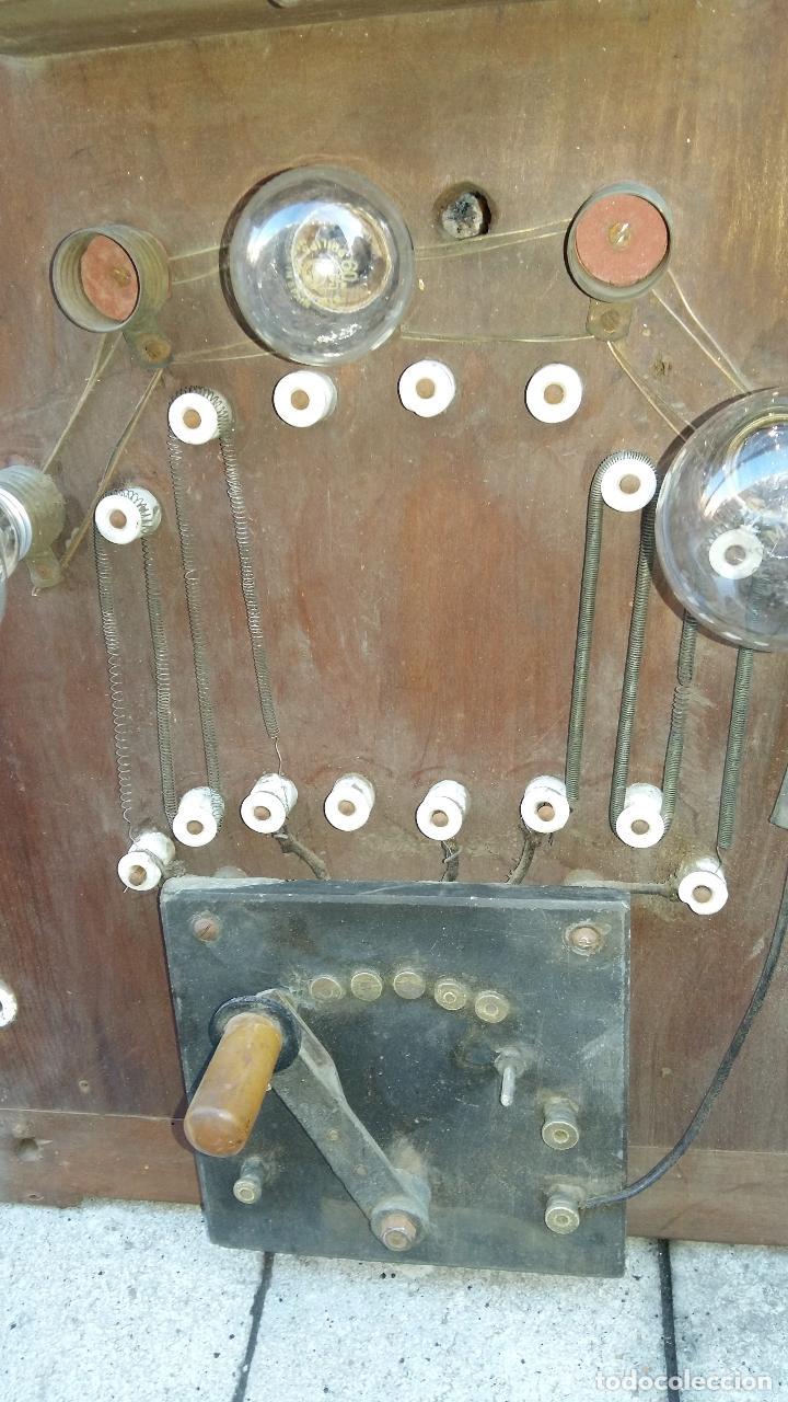 Antigüedades: ANTIGUO PANEL O CUADRO ELÉCTRICO, GRANDE. - Foto 4 - 104291991