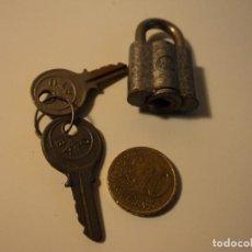 Antigüedades: CANDADO ANTIGUO MARCA BATU. Lote 104340803