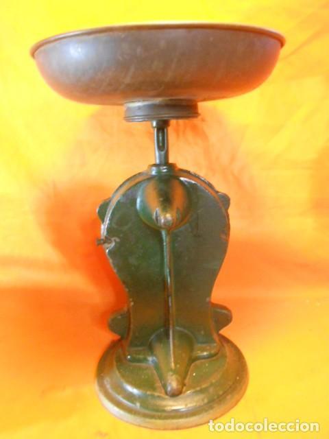 Antiquitäten: IMPRESIONANT PESA KRUPS FABRIK-MARKE EN HIERRO FUNDIDO 2,8Kgr. Y ESFERA ESMALTADA SOLINGEN (ALEMANIA - Foto 8 - 104358895