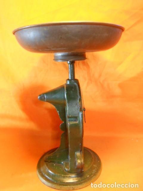 Antiquitäten: IMPRESIONANT PESA KRUPS FABRIK-MARKE EN HIERRO FUNDIDO 2,8Kgr. Y ESFERA ESMALTADA SOLINGEN (ALEMANIA - Foto 13 - 104358895