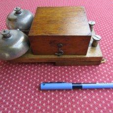Teléfonos: TIMBRE O SONNERIA DE CALIDAD, PARA TELÉFONOS ANTIGUOS, FABRICADO EN 1913.. Lote 51188197