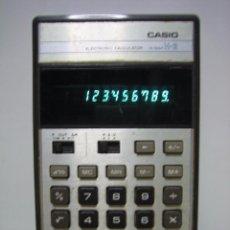 Antigüedades: CALCULADORA CASIO H-2. FUNCIONA. Lote 104446135