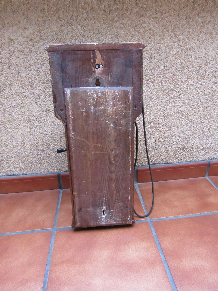 Teléfonos: ANTIGUO TELEFONO DE GRAN TAMAÑO DE LA MARCA TELEFRAFVERKETS VERKSTAD (ERICSSON ). - Foto 7 - 104453603