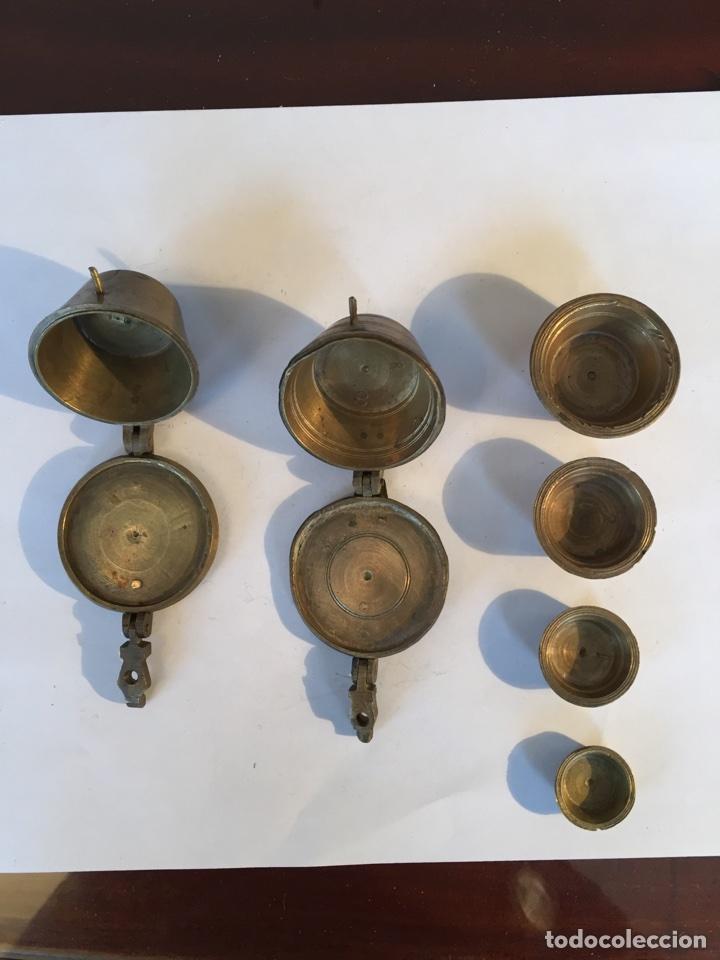 Antigüedades: Antiguas pesas o ponderales - Foto 2 - 104763886