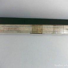 Antigüedades: ANTIGUA REGLA DE CALCULO 3-31 DE LA FIRMA FABER CASTELL DE GRAN TAMAÑO . Lote 104770071